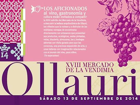XVIII Mercado de la vendimia de Ollauri