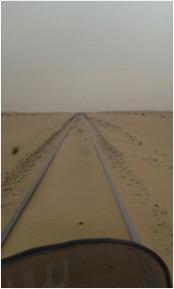 El desierto y el tren