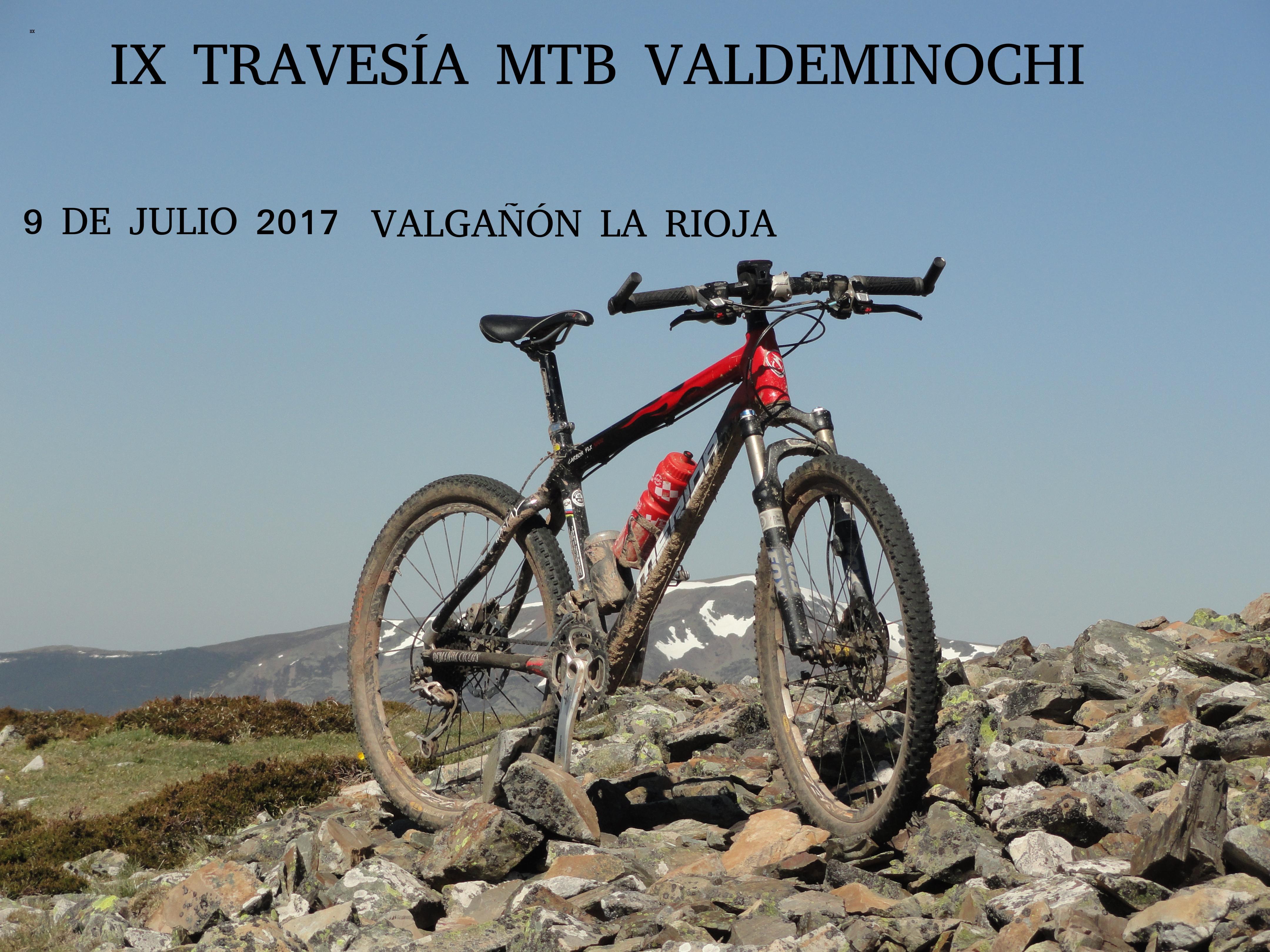 Travesía MTB por las montañas de Valgañón y valle de Ezcaray, 9 de julio de 2017