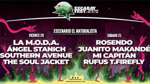 Ezcaray Fest y presentación de nuevo disco de Isaac Miguel en el Teatro, jueves 19
