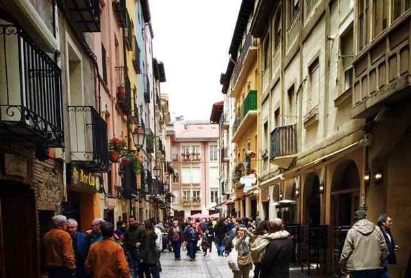Vamos a visitar la calle Laurel en Logroño, La Rioja