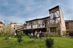 casa rural en el valle de Ezcaray