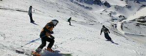 esqui en valdezcaray desde la casa rural en Ezcaray