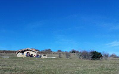 Sol de invierno en el valle de Ezcaray, buenos amigos y asado…