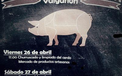 Jornada de reflexión y de la Matanza del cerdo en Valgañón, La Rioja alta